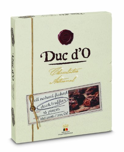 Duc d'O Dark Chocolate Truffles 200 g (Pack of 2)