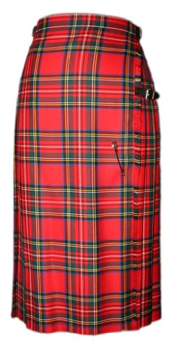 Ladies Standard Kilt in Pure New Wool.