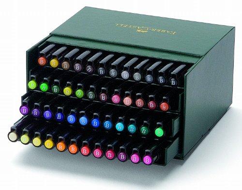 Faber-Castell Pitt Artist Pen Gift Box x 48 Colours