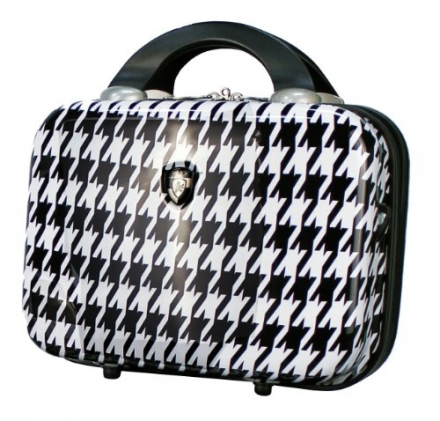 Heys – High Quality Beauty Case – Houndstooth