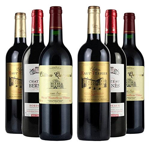 Bordeaux Red Wine Mixed Half Case