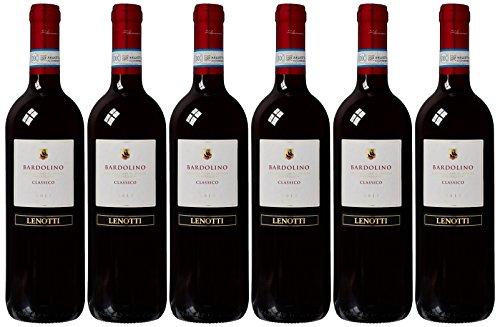 Le Bon Vin Bardolino Classico Lenotti Estate Wine 2012 75 cl (Case of 6)