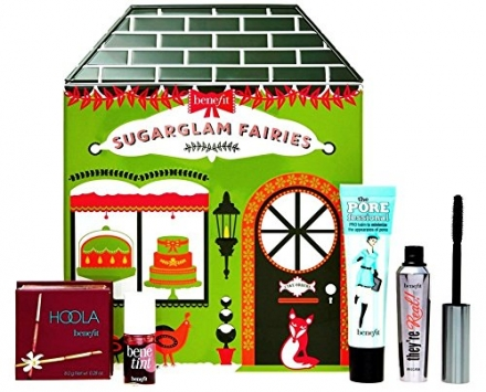 BENEFIT COSMETICS sugarglam fairies: limited edition set for lashes, lips & face