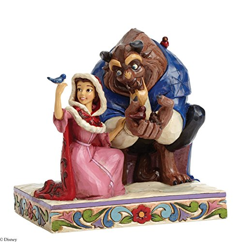 Disney Traditions Belle and the Beast Figurine