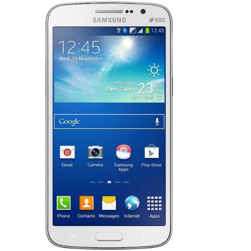 Brand New Samsung Galaxy Grand 2 Duos G7102 Dual SIM 8GB White Unlocked Smartphone