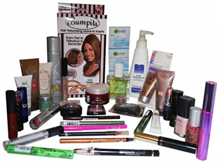 40pc Celine Dion edt Perfume & Loreal RoC No7 Revlon Neutrogena etc Makeup & Skincare Gift Set (UK O