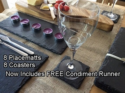 SET OF EIGHT PLACEMATS PLUS COASTERS