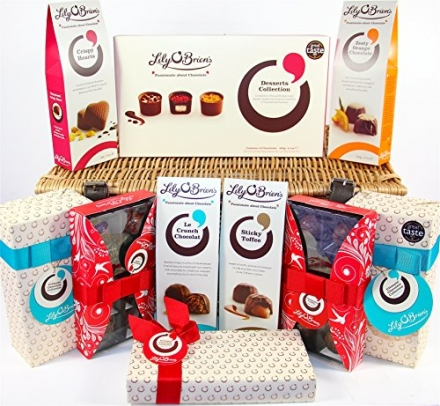 Lily O'Briens Luxury Chocolate Christmas Hamper