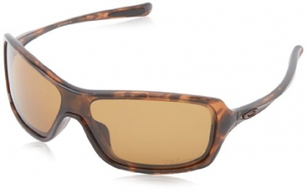 Oakley Women's Oo9202 Break Up Tortoise Frame/Bronze Polarized Lens Plastic Sunglasses