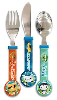 Spearmark 3-Piece Octonauts Cutlery Set