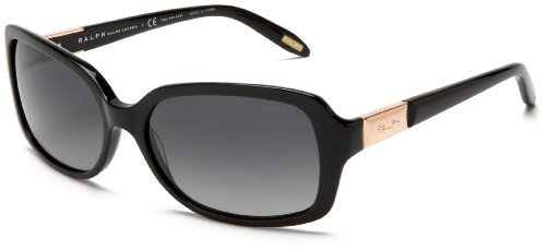 Ralph by Ralph Lauren Women's 0RA5130 Rectangle Polarized Sunglasses