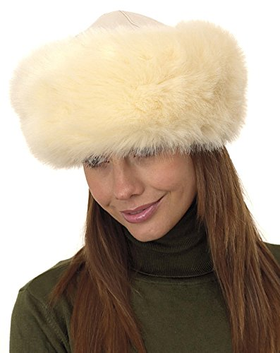 Whiteley Ladies Nappa leather & faux fur Cossack Hat 928/062 Complete With Black leatherette Gift/St