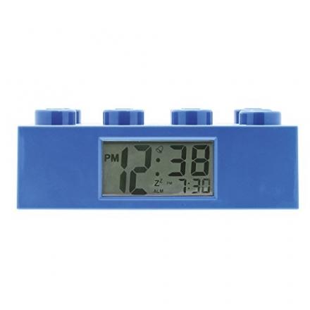 LEGO Brick Clock (Blue)