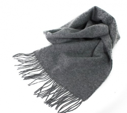 Glamour Girlz Mens Women's Softest Scotland Luxury Pure 100% Cashmere Solid Scarf