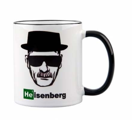 Breaking Bad / Heisenberg Mug – Perfect gift for all fans of Walter White – ceramic coffee cup