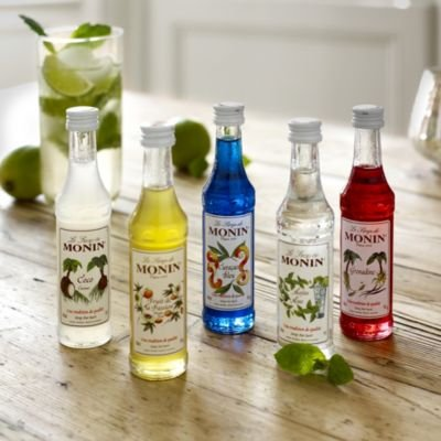 Monin Cocktail Non Alcoholic Syrups Gift Set 50ml x 5