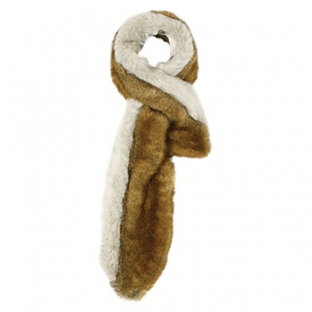 Coyote & Husky Faux Fur Neck Warmer by Ruby and Ed