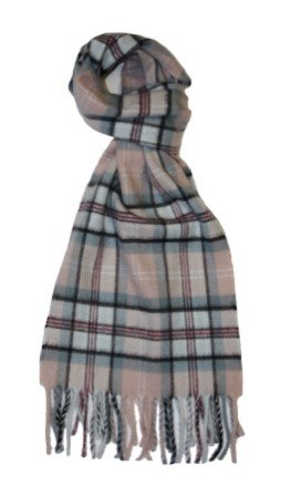 Princess Diana Rose Memorial Tartan 100% Cashmere Scarf & Gift Wrap, By Locharron