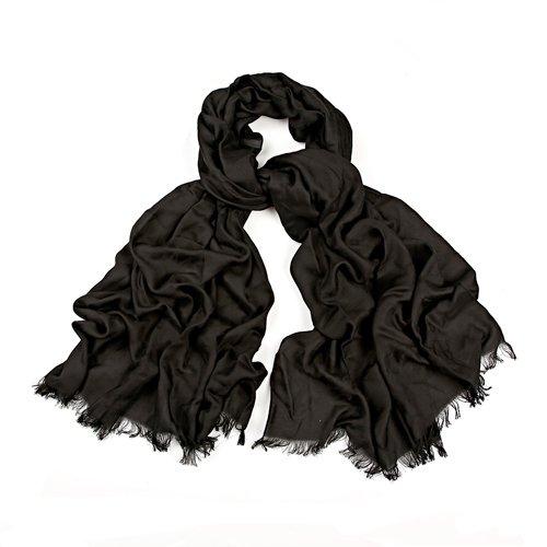 ARMANI SCARF BLACK 4874