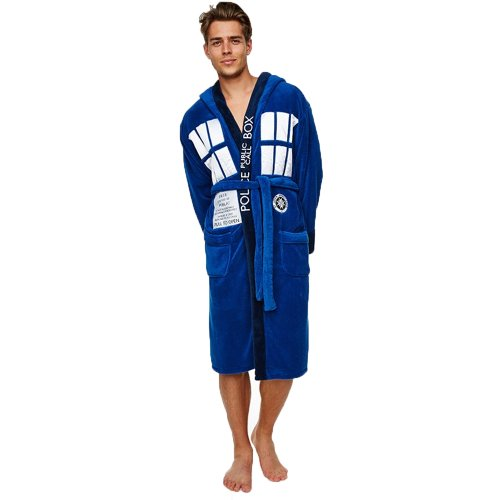 Dr Who Tardis Dressing Gown