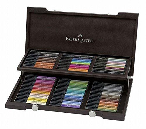 Faber-Castell Pitt Artist Wooden Box, Pack of 90