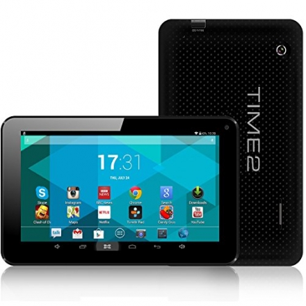 MASSIVE 60% OFF LIMITED OFFER! 7″ Time2® Bluetooth Multi-Touch Tablet PC – 800 x 480 Screen – Allwi