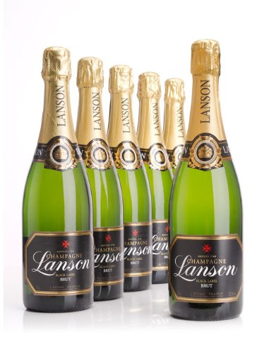 Case of Lanson Champagne – 6 Bottles