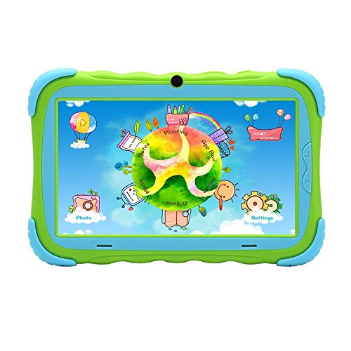 iRulu Y1 pro (Kidpad) -7″ Android 4.2 Tablet Special Gift for Children,Featured with Kids Safe Desig