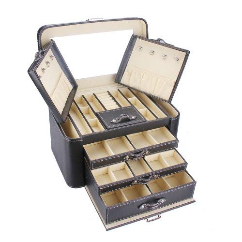 Rowling Large Jewellery Box Beads Storage Display Case jewellery Organizer ZG149