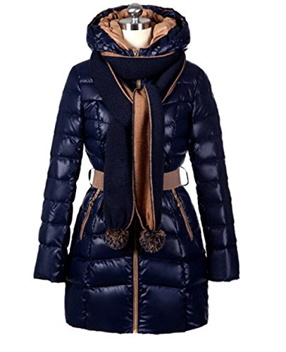 Ghope 2014 New Winter Jacket New Korean Women Slim Down Elegant Padded Cotton Jacket and Long Sectio